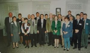 Uczestnicy spotkania w roku 1995